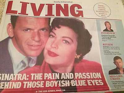 (UK) LIVING SUPPLEMENT DEC 2015 FRANK SINATRA PATRICIA CORNWELL DAISY RIDLEY