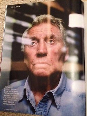 (UK) SUNDAY TIMES MAGAZINE 2015 DON MCCULLIN 20 PAGE PHOTO SPECIAL SALVADOR DALI