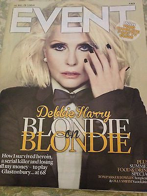 DEBORAH HARRY Debbie Blondie Photo Cover interview MAGAZINE 2014 Chris O'Dowd