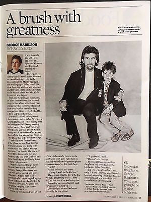 Observer Magazine July 2017 George Harrison The Beatles Olly Murs Dustin Johnson