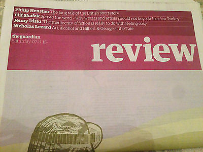 Guardian Review Nov 2015 STEPHEN KING JENNY DISKI PHILIP HENSHER NICHOLAS LEZARD