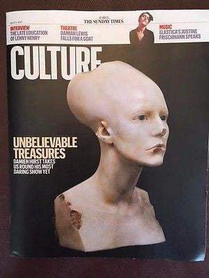 UK Culture Magazine April 2017 Damien Hirst Justine Frischmann Jennifer Ehle