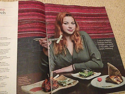 Observer Food January 2014 Rob Brydon Steve Coogan Charlotte Chruch Andy Warhol