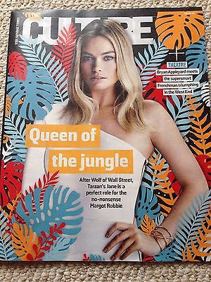 (UK) CULTURE MAGAZINE JUNE 2016 MARGOT ROBBIE PHOTO COVER INTERVIEW KEVIN SPACEY
