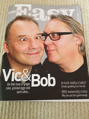 Take It Easy Magazine - 2 February 2014 Vic Reeves & Bob Mortimer Laurie Brett