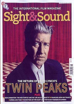 TWIN PEAKS David Lynch Photo Cover SIGHT & SOUND MAGAZINE June 2017 NEW