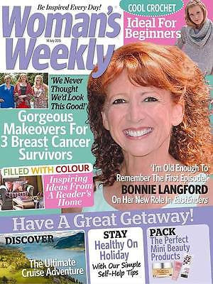 Woman's Weekly Magazine 14 July 2015 Bonnie Langford Photo Interview Doctor Who