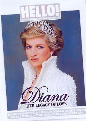 UK HELLO! magazine - Princess Diana 20th Anniversary Collectors' Special edition