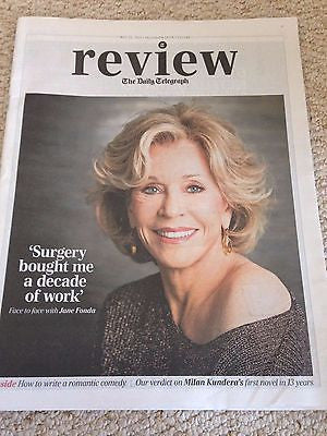 (UK) TELEGRAPH REVIEW MAY 2015 JANE FONDA MADISEN WARD AND THE MAMA BEAR