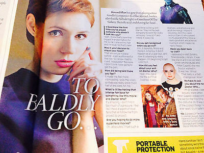 Dr Who KAREN GILLAN photo interview 2014 GREG WISE EMMA THOMPSON