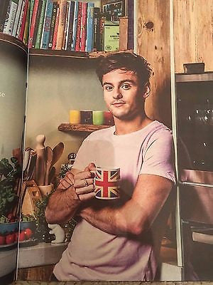 Observer Food Magazine February 2017 - Tom Daley photo interview