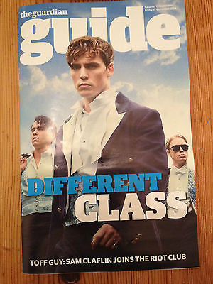 The Riot Club SAM CLAFLIN PHOTO COVER MAGAZINE 2014 NICK CAVE TOM BIDWELL GLUE