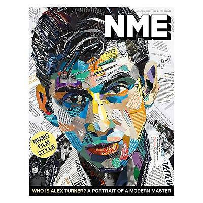 Arctic Monkeys ALEX TURNER Photo Cover Special UK NME MAGAZINE APRIL 2016