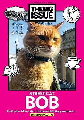 Big Issue Magazine September 2015 Street Cat Named Bob The Streetcat James Bowen