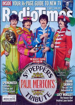 Radio Times magazine May 2017 - The Beatles Sgt Pepper Kathleen Turner
