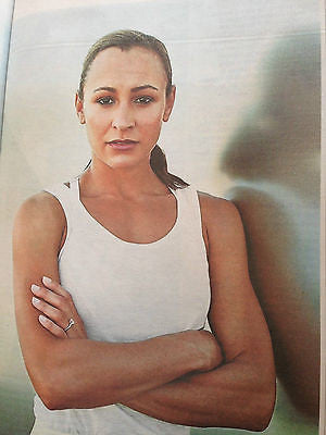 JESSICA ENNIS PHOTO INTERVIEW UK TIMES WEEKEND