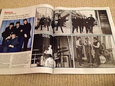 ANJELICA HUSTON interview THE BEATLES PAUL MCCARTNEY UK ISSUE 2013 BRAND NEW ***