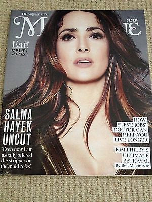 SALMA HAYEK interview 12 YEARS A SLAVE UK 1 DAY ISSUE KATE MIDDLETON FASSBENDER