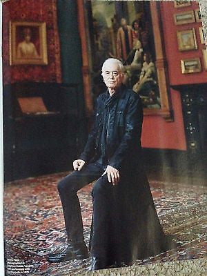 JIMMY PAGE interview LED ZEPPELIN UK FT WEEKEND MAGAZINE AUGUST 2015 JOSS STONE