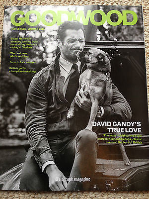 DAVID GANDY UK Photo Cover Goodwood magazine Summer 2016