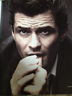 Legolas ORLANDO BLOOM Photo Cover interview TIMES MAGAZINE March 2014