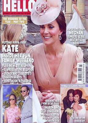 HELLO! magazine 5 June 2017 Pippa Middleton's Wedding Part Two Kate Middleton