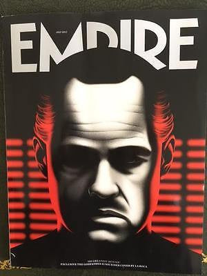 Empire Magazine July 2017 Exclusive The Godfather Subscriber Cover by La Roca