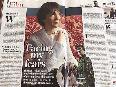 Radio Times Magazine 8 July 2017 Test Match 60 Years Julia Stiles Harriet Walter