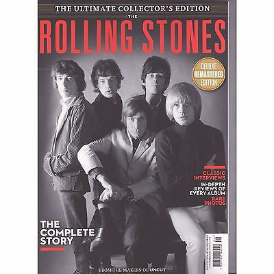 The Rolling Stones Uncut Ultimate Music Guide Collectors Edition UK MAGAZINE