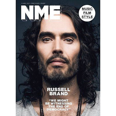 NME - Russell Brand Cover And Interview - One Day Publication Only