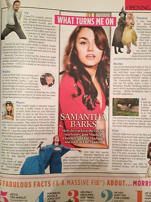 EVENT MAGAZINE SEPT 2014 SAMANTHA BARKS MARIANNE FAITHFULL ROBERT PLANT LED ZEP