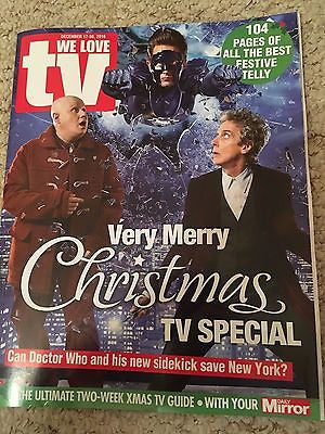WE LOVE TV Magazine 12/2016 PETER CAPALDI Dr Who JAMES NORTON Sarah Lancashire