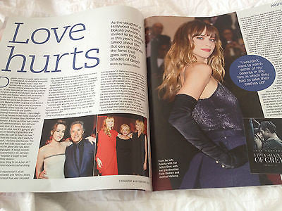 Dakota Johnson On Don Tina O'Brien Anna Skellern S Magazine UK February 2015