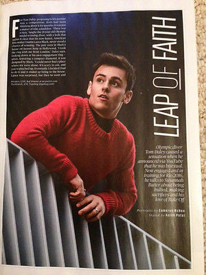 TOM DALEY PHOTO INTERVIEW UK ES MAGAZINE NOVEMBER 2015