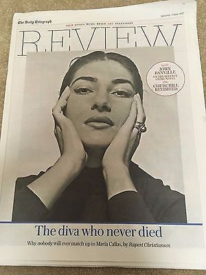 Telegraph Review June 3 2017 - Maria Callas Marika Hackman Wonder Woman