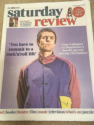 UK Times Review June 24 2017 Liam Gallagher Steven Isserlis Sam Heughan