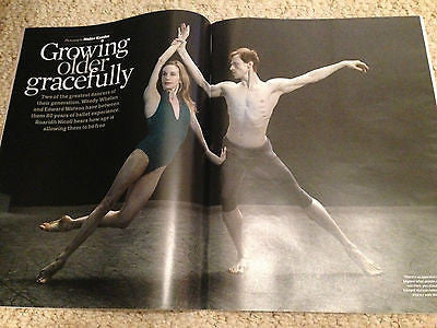 EDWARD WATSON & WENDY SHELAN PHOTO INTERVIEW OBSERVER MAGAZINE JUNE 2015