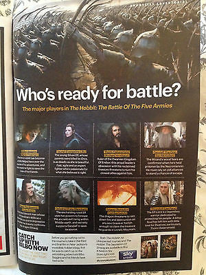 SHORTLIST Magazine MARTIN FREEMAN THE HOBBIT RICHARD ARMITAGE LUKE EVANS LEE PACE