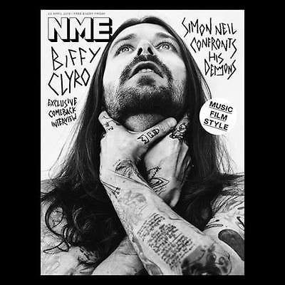 BIFFY CLYRO Jared Leto Adam Lambert Suicide Squad UK NME MAGAZINE APRIL 2016