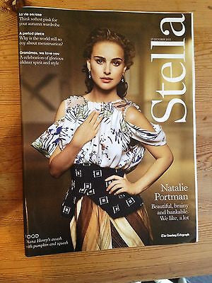 NATALIE PORTMAN - THOR DARK WORLD PHOTO INTERVIEW UK STELLA MAGAZINE NOV 2013