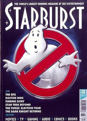 GHOSTBUSTERS - THE MOVIE UK STARBURST magazine July 2016 Issue 426