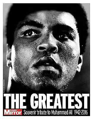 Muhammad Ali 5 June 2016 Death Photo Cover News (UK) Sunday Mirror Supplement