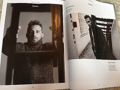 NEW UK !! MATTHIAS SCHOENAERTS inter/w MADDING CROWD HUNK UK ESQUIRE ISSUE ***