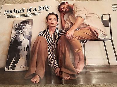 Financial Times Magazine February 2017 Kristin Scott Thomas cover
