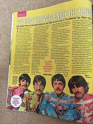 Saturday magazine June 2017 The Beatles Sgt Pepper Paul McCartney Howard Goodall
