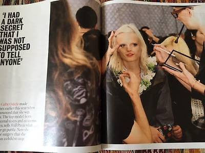 Times Magazine April 2017 Hanne Gaby Odiele UK Photo Interview Johanna Konta
