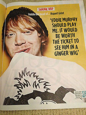 RUPERT GRINT interv/w PHILIP GLENISTER UK 1DAY ISSUE 2014 KINKS Viktoria Mullova