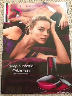 (UK) ES MAGAZINE August 2016 Calvin Klein MARGOT ROBBIE PHOTO COVER