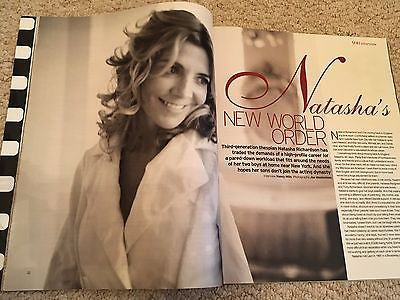 NATASHA RICHARDSON Photo Cover interview UK YOU MAGAZINE MARCH 2006 RARE
