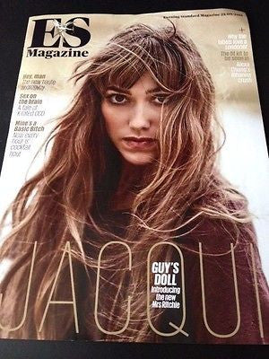 JACQUI RITCHIE Photo Cover Interview ES Magazine SEPTEMBER 2015